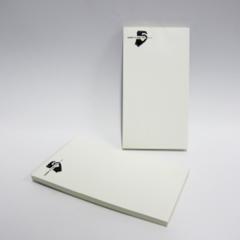 Kelnerbloks of sets in 2-voud (8x14,8 cm)