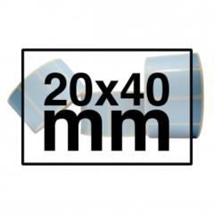 20 x 40 mm