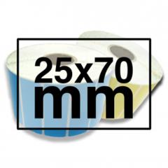 25 x 70 mm FOLIE (PE)