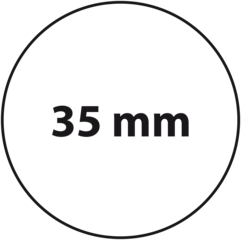 35 mm rond