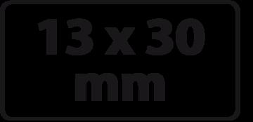 13 x 30 mm