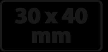 30 x 40 mm