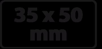 35 x 50 mm