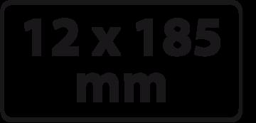 12 x 185 mm