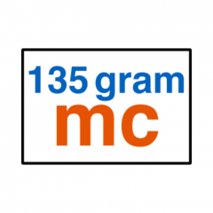 135 grams MC