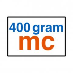 400 grams MC