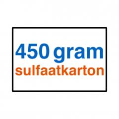 450 grams Sulfaatkarton