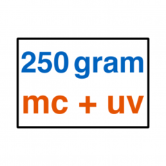 250 grams MC + UV Lak