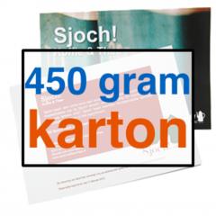 450 grams Karton