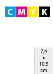 A7 (7,4x10,5 cm)