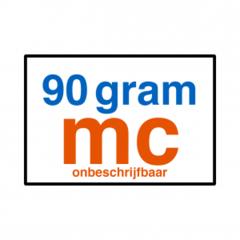 90 grams MC (glad)