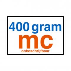 400 grams MC (glad)