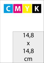 A5 Vierkant (14,8x14,8 cm)