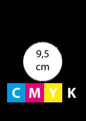 Rond 9,5 cm