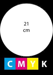 Rond 21 cm