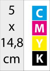 A6 Half (5x14,8 cm)