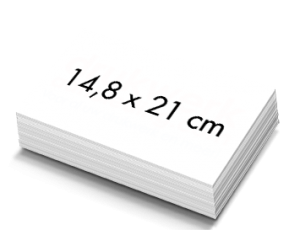 Blanco A5 Kaarten 14,8x21cm