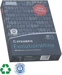 Blanco A4 papier 100% gerecycleerd papier, absoluut wit