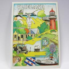 Ansichtkaarten - Vlieland