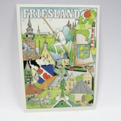 Ansichtkaarten - Friesland