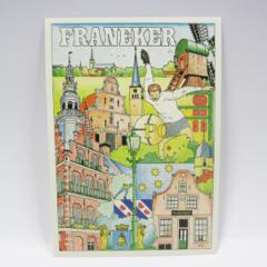 Ansichtkaarten - Franeker