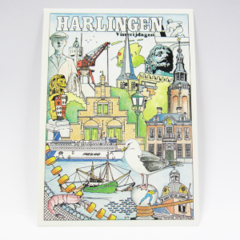 Ansichtkaarten - Harlingen