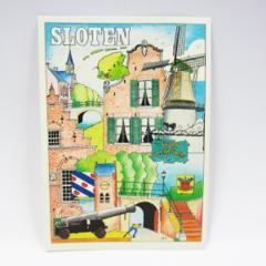 Ansichtkaarten - Sloten