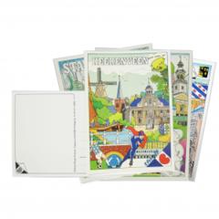 Ansichtkaarten - Assortiment 12 kaarten