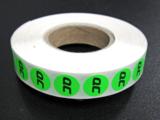 25.000 etiketten op rol 15 mm rond 1/0_