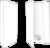 250 Mat Witte Mappen Mappen Blanco