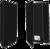 60 Zwarte Mappen Blanco