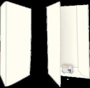 500 Biotop Offertemappen Blanco