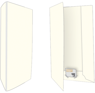 750 Biotop Offertemappen Blanco
